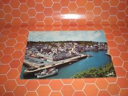 BELLE ILE EN MERE BRETAGNE  PORT CARTOLINA 1976 - Belle Ile En Mer