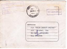 1997 , Moldova   Moldavie   Moldau , Postal History ,  Used   Cover - Moldova