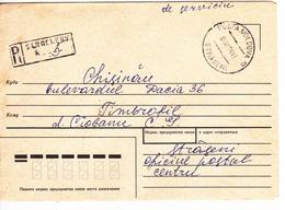 1994 , Moldova   Moldavie   Moldau , Postal History ,  Used Recomanded  Cover - Moldova
