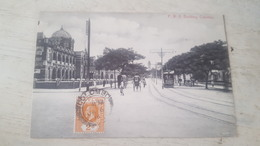 CPA ANIMEE P.W.D BUILDING, COLOMBO - Sri Lanka (Ceylon)