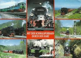 Deutschland Harz Schmalspurbahnen / Brocken Gernrode Mägdesprung Alexisbad Schierke Drahtzug - Eisenbahnen