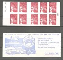 CARNET LUQUET 2002. Y&T N° 3419-C5** Neuf De Guichet > 10 TVP Rouge RF.Type II. Daté Du 10.04.02. TB. - Carnets