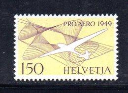 149/1500 - SVIZZERA 1949 , Posta Aerea Unificato N. 44  ***  MNH  PRO AEREO - Nuovi