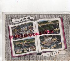 27 - VERNON - SOUVENIR -CHATEAU DE BIZY-VIEUX MOULIN-EGLISE- 1965 - Vernon