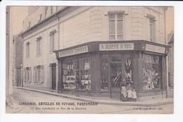 FRESNAY SUR SARTHE - LIBRAIRIE, ARTICLES DE VOYAGE - 17 RUE GAMBETTA ET RUE DE LA BESLIERE - BRUNET MOIRE - 72 - Other Municipalities