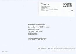 Espana Spain 2017 San Miguel De Salinas Meter CORREOS Label EMA Cover - 1931-Tegenwoordig: 2de Rep. - ...Juan Carlos I