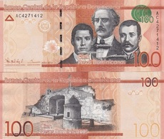 Dominican Republic Dominicana - 100 Pesos Oro 2014 UNC Ukr-OP - República Dominicana