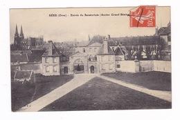 Jolie CPA Sées (Orne), Entrée Du Sanatorium (ancien Grand Séminaire). A Voyagé En 1917 - Sees