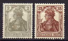 Deutsches Reich, 1918/1919, Mi 102 -103 ** [090918I] - Allemagne