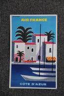 AIR FRANCE - COTE D'AZUR - Reclame
