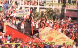 Cayman Island - CAY-13D, GPT, 13CCID, Pirates Week, 10$, 15,000ex, 1995, Used - Kaaimaneilanden