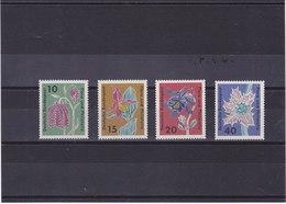 RFA 1963 FLEURS Yvert 264-267 NEUF** MNH - [7] République Fédérale