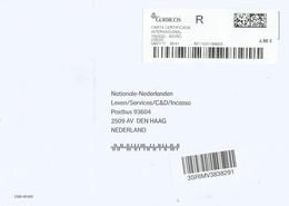 Espana Spain 2017 Boiro Meter CORREOS Label EMA Registered Cover - 1931-Tegenwoordig: 2de Rep. - ...Juan Carlos I
