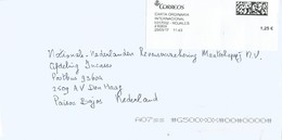 Espana Spain 2017 Alfas Del Pi Meter CORREOS Label EMA Registered Cover - 1931-Tegenwoordig: 2de Rep. - ...Juan Carlos I