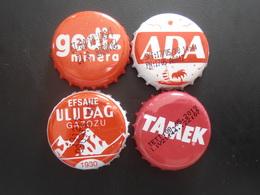 Turkey Turquie 4 Different Capsules - Soda