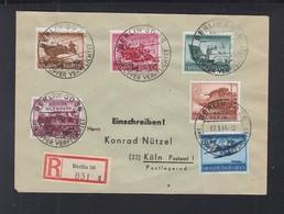 Dt. Reich R-Brief 1944 Sonderstempel KHW Berlin - Deutschland