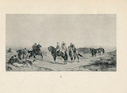 Eugène Fromentin - Cavaliers Arabes - - Engravings