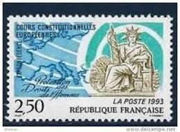 "FR YT 2808 "" Droits De L'Homme "" 1993 Neuf** - France"