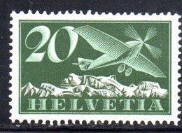 112/1500 - SVIZZERA 1923 , Posta Aerea Unificato N. 4  ***  MNH - Nuovi