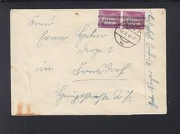 Österreich Paar Mit Aufdruck Auf Brief 1945 (2) - 1945-.... 2. Republik