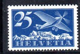 117/1500 - SVIZZERA 1923 , Posta Aerea Unificato N. 5  * - Nuevos