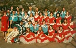 CPSM Provo-Brigham Young University American Folk Dancers 1974-RARE                  L2667 - Provo