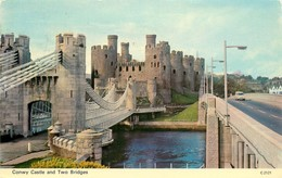 CPSM Conwy Castle                   L2667 - Caernarvonshire