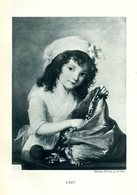 Elisabeth Vigée Lebrun - Portrait D' Alexandrine Émilie Brongniart - Phototypie Berthaud - - Engravings