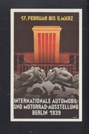 Dt. Reich PK IAA Berlin 1939 - Voitures De Tourisme
