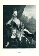 Nicolas De Largillière (?)  Portait De Femme Avec Enfant - Phototypie Berthaud - Engravings