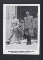 Dt. Reich Breslau Turfest AK Henlein Und Von Tschammer Mangelhaft - Historische Persönlichkeiten