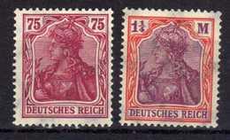 Deutsches Reich, 1922, Mi 197-198 **/* [090918I] - Unused Stamps