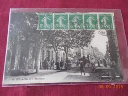 CPA - Le Teil - Rue De La République - Le Teil