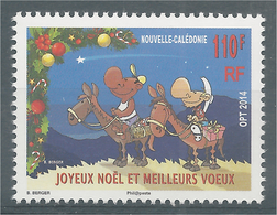 New Caledonia, Christmas Greetings And Best Wishes, 2014, MNH VF - New Caledonia