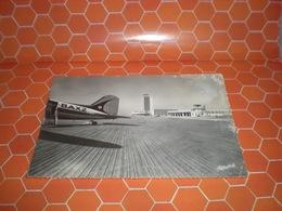 ALGERIA AEROPORTO  AEREO BAXZ CARTOLINA 1958 - Altri