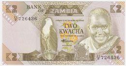 Zambia P 24 - 2 Kwacha 1980 1988 - UNC - Zambie