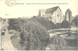 Orléans - Eglise Saint-Paterne, Boulevard Alexandre Martin - Orleans