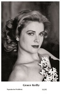 GRACE KELLY - Film Star Pin Up PHOTO POSTCARD - 61-42 Swiftsure Postcard - Postales
