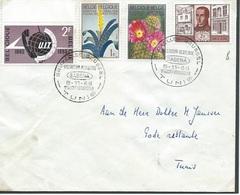 België  O.B.C.  SABENA  1965   1ste Luchtverbinding Naar Tunis - Entiers Postaux