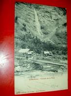 Châteauroux  (les Alpes) - Cascade De La Pisse  /  Circulée En 1914 - Autres Communes