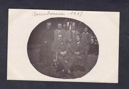 Carte Photo Bourbonne Les Bains  Archives Famille De Chatillon Sur Marne  1927 - Bourbonne Les Bains