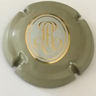 124 - Capsule De Champagne - 115a - Louis Roederer, Initiales RL Fantaisies, Gris, Fond Blanc Et Or - Roederer, Louis