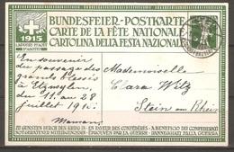 Carte P ( Suisse / Fête Nationale De 1915 ) - Pro Patria