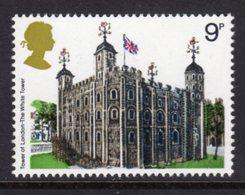 GREAT BRITAIN GB - 1978 BRITISH ARCHITECTURE HISTORIC BUILDINGS 9p STAMP FINE MNH ** SG 1054 - Castles