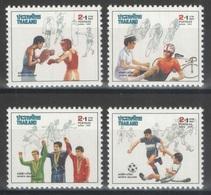 Thaïlande - YT 1327-1330 ** - 1989 - Sports - Tailandia