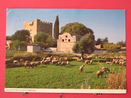 Visuel Pas Très Courant - Chypre - Kolossi Castle Near Limassol - Jolis Timbres - Scans Recto-verso - Chypre