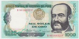 Peru P 122 - 1000 1.000 Soles De Oro 5.11.1981 - UNC - Pérou