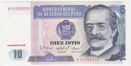 Peru P 128 - 10 Intis 17.1.1986 - UNC - Perù
