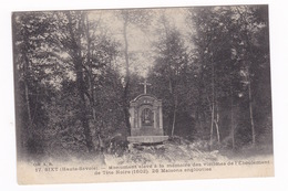 Jolie CPA Saint-Jean-de-Sixt (Haute-Savoie), Monument Aux Victimes De L'éboulement De Tête Noire (1602) - Monumentos A Los Caídos