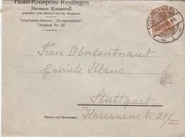 Brief Aus Reutlingen 1916 - Brieven